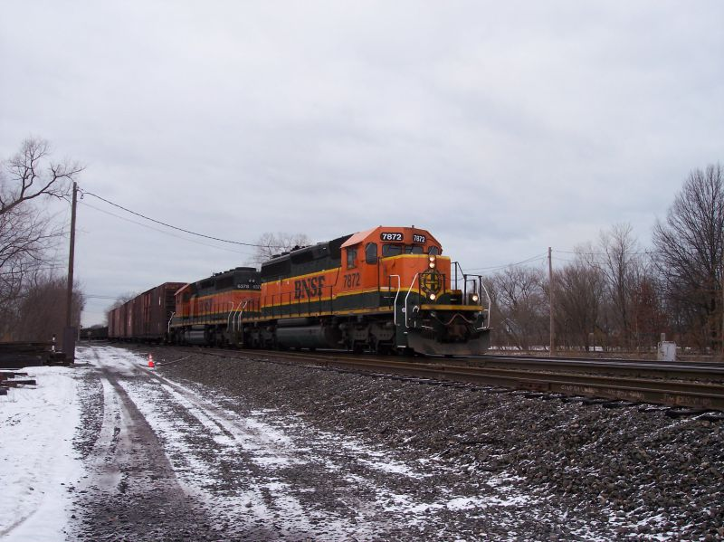 Coming off the Porter Branch